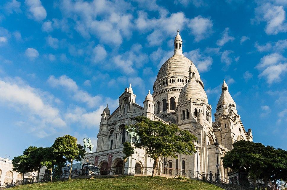 Sacre Coeur, Paris August 2014