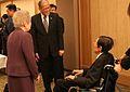 Sadako Ogata Benigno Aquino III and Shijuro Ogata 20131214.jpg