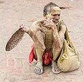 Sadhu in Janaki Temple, Janakpur-September 22, 2016-IMG 7437.jpg