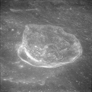 Saha (crater) - Image: Saha E crater AS11 42 6281