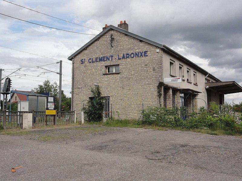 Saint-Clément (M-et-M) gare Saint-Clément - Laronxe