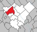 Saint-Frédéric Quebec location diagram.png