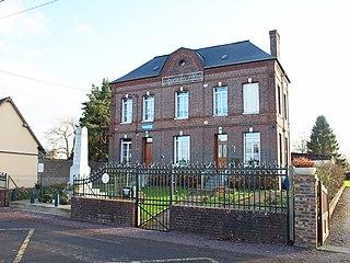Saint-Martin-au-Bosc Commune in Normandy, France