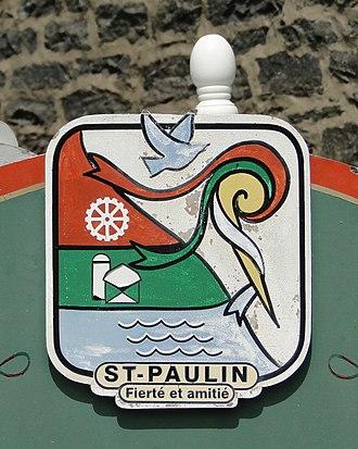 Saint-Paulin, Quebec - Emblem of Saint-Paulin