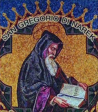 Gregory of Narek - A mosaic depicting Narekatsi, St. Peter's Basilica, Vatican