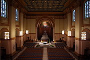Saints Peter & Paul Cathedral (Indianapolis, Indiana), interior, nave view from the organ loft