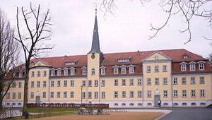 Schnepfenthal Salzmann School - Image: Salzmannschule in Waltershausen Schnepfenthal Thuringen