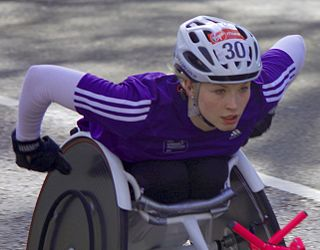 Samantha Kinghorn Scottish wheelchair racer