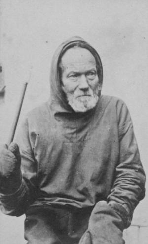 Samuel Kleinschmidt - Kleinschmidt, photograph by J. A. D. Jensen c. 1885