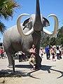 San Diego Zoo - Mammoth Plaza at Elephant Odyssey in 2010.jpg