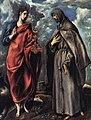 San Juan Evangelista y San Francisco El Greco.jpg