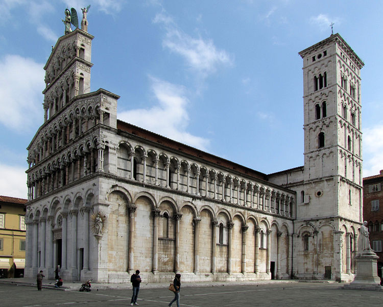 File:San Michele in Foro, Lucca.jpg