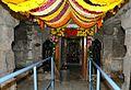 Sanctum Sanctorum of Gunjanasimha Swamy after Kumbhaabhishekam.jpg