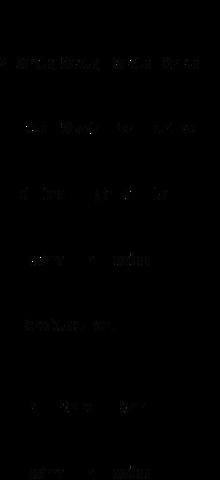 Il Sanctus XI in notazione quadrata.