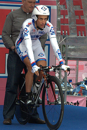 Sandy Casar - Casar at the 2012 Giro d'Italia.