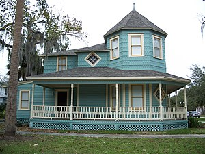 Sanford Residential Historic District - House in district