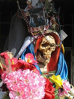 Santa Muerte Female folk saint