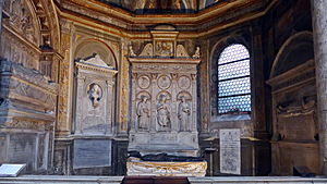 Costa Chapel (Santa Maria del Popolo) - General view with tombs and monuments