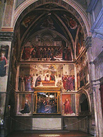 Sassetti Chapel - Overview of the Chapel