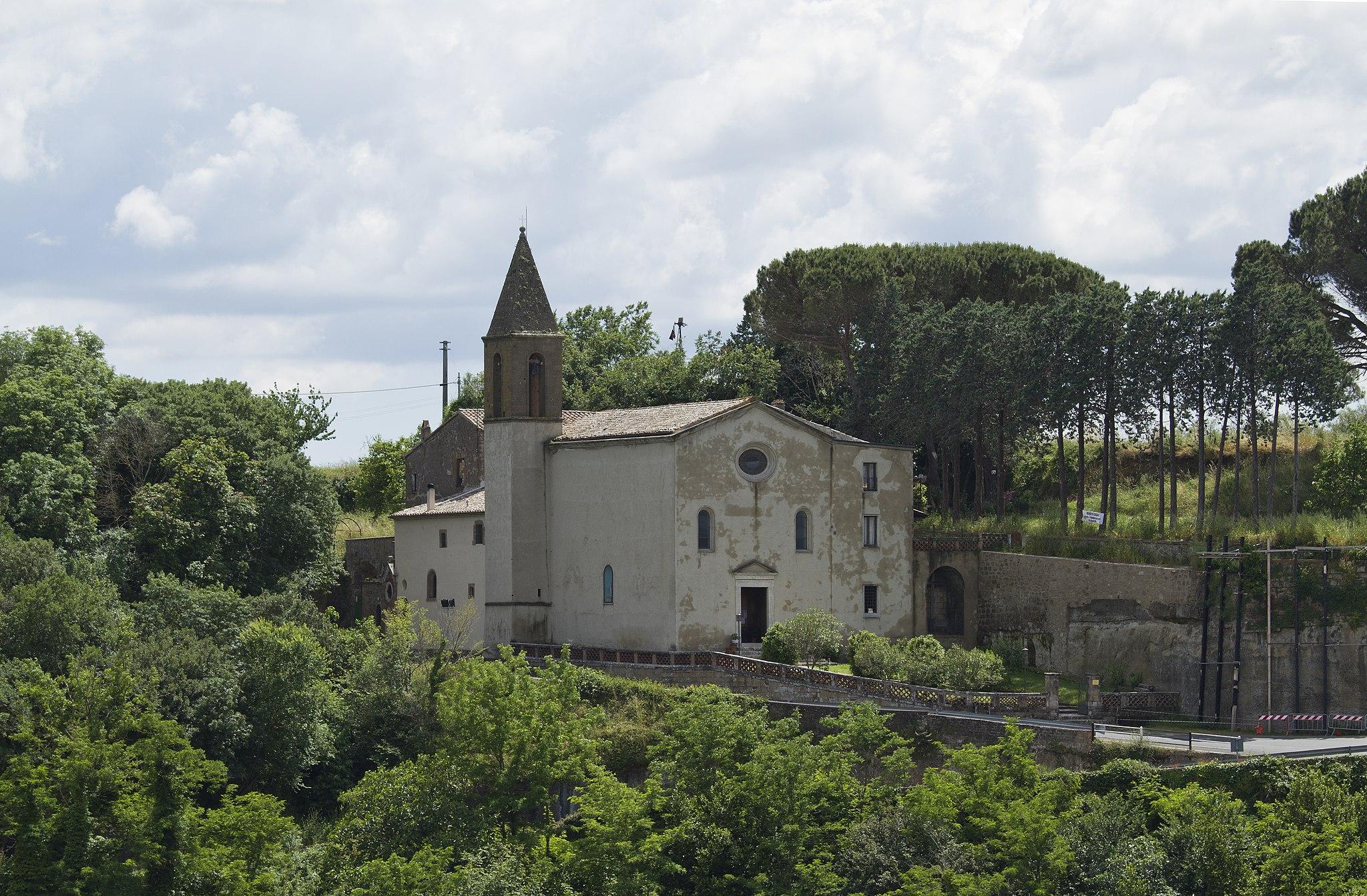 Santuario della Madonna delle Grazie, Pitigliano, Grosseto