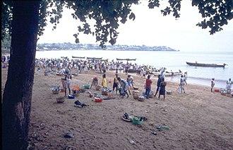 Cuisine of São Tomé and Príncipe - Image: Sao tome fish