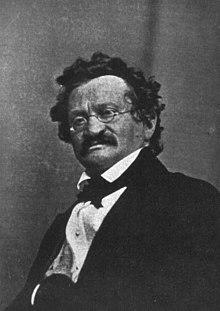 Moritz Gottlieb Saphir, Foto von Carl Ferdinand Stelzner, 1843. (Quelle: Wikimedia)