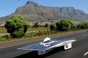 Solar power in South Africa - 2010 South African Solar Challenge