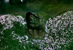 Lauwersmeer - Satellite image