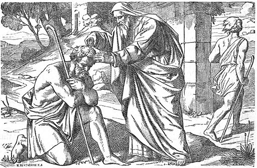 Saul anointed by Samuel