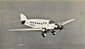 Savoia-Marchetti S.73 - SABENA's Savoia-Marchetti S.73