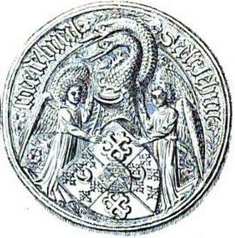 Jean V de Bueil - Seal of Jean V de Bueil