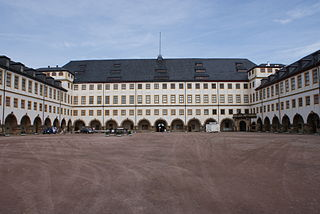 Friedenstein Palace Castle in Gotha