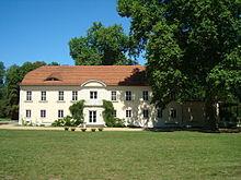 Château et parc de Sacrow en 2008