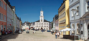 Schneeberg marketplace with townhall (aka).jpg