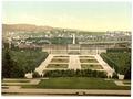 Schoenbrunn Castle (i.e., Schönbrunn), Vienna, Austro-Hungary-LCCN2002708400.tif