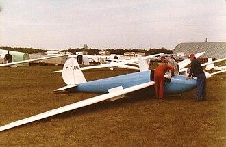 Schweizer SGS 1-23 - Schweizer 1-23D