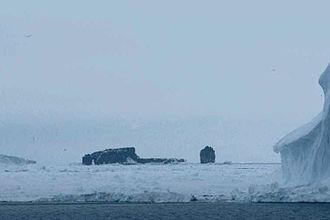 Scott Island - Scott Island and Haggits Pillar
