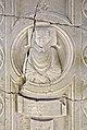Scuola forse veronese, lastra tombale di dinadato spinelli, xiv secolo, da s.m. consolatrice a vr 02.jpg