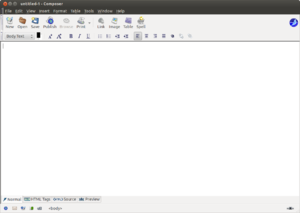 SeaMonkey - SeaMonkey Composer 2.16
