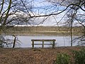 Seat overlooking the Beaulieu River, Beaulieu Estate - geograph.org.uk - 346669.jpg