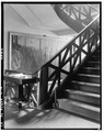 Second floor landing. June 1936. - The Cabildo, 711 Chartres Street, New Orleans, Orleans Parish, LA HABS LA,36-NEWOR,4-19.tif