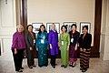 Secretary Clinton Greets Representatives at the LMI Women's Event (7563720302).jpg
