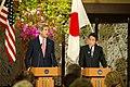 Secretary Kerry with Japan's Foreign Minister Kishida (8649154674).jpg