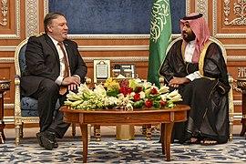 Secretary Pompeo Meets with Saudi Crown Prince Mohammed bin Salman (30421982117)