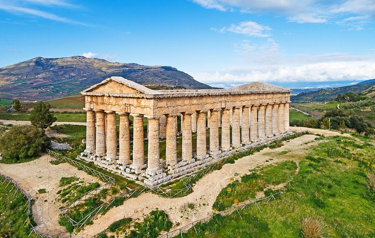 Cartina Sicilia Segesta.Tempio Di Segesta Wikipedia