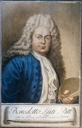 Benedetto Luti - Self-Portrait