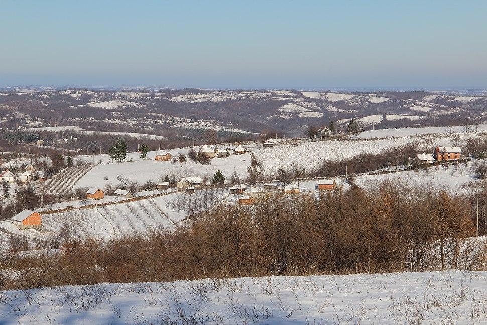 Selo Ogladjenovac - opština Valjevo - zapadna Srbija - panorama 11