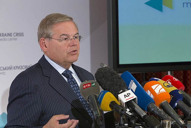 From commons.wikimedia.org: Senator Robert Menendez, CODEL, Kyiv, Ukraine, Sept. 1, 2014 {MID-317276}