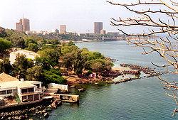 Bucht von Dakar
