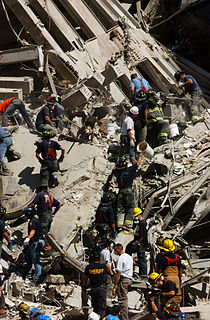 Rescue and recovery effort after the September 11 attacks on the World Trade Center Post-9/11 rescue operations